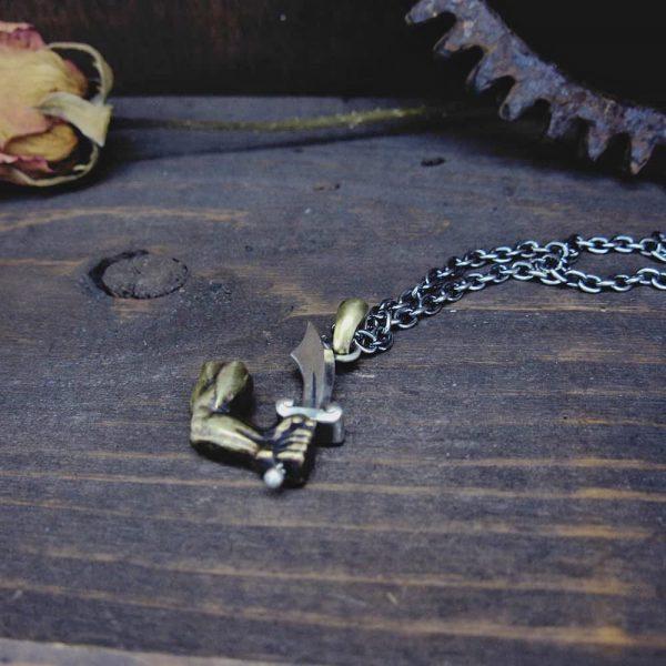 海賊旗(ジョリーロジャー)のネックレス